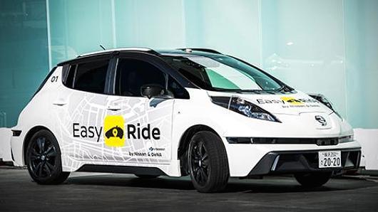 日产自动驾驶出租车3月初日本启动测试 抗衡优步