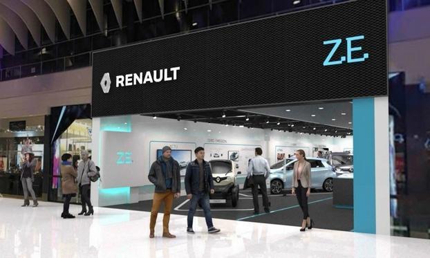 雷诺全球首家纯电动汽车经销店 落户瑞典