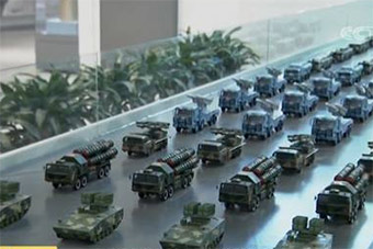 军博神秘展馆中采导弹专家:中国导弹世界最先进