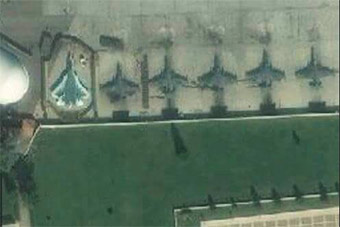卫星图片证实苏57战机已经抵达叙利亚