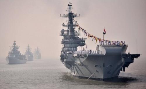 虎视眈眈向中国?印军将主办17国大型海上联演
