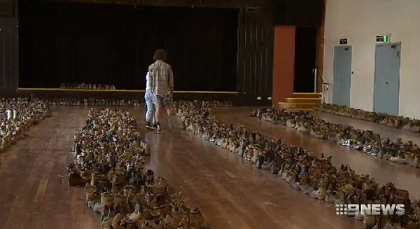 """澳大利亚""""鞋子大盗""""6年间盗得近2500双鞋"""