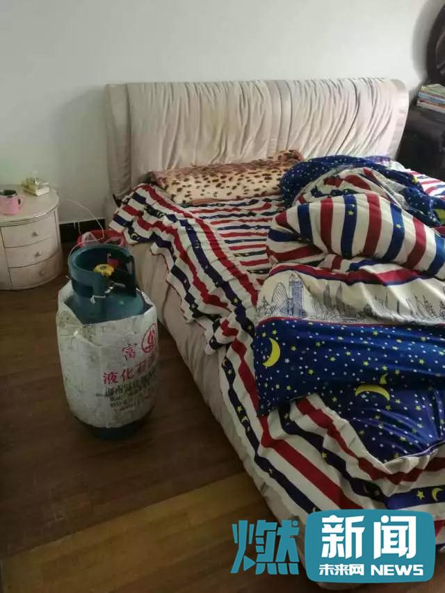 小伙感情受挫欲轻生 把煤气罐搬到卧室放煤气自杀