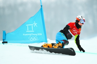 单板滑雪女将期待4年后夺奖牌