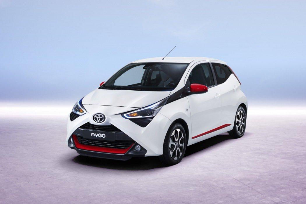 丰田新款Aygo官图发布 将于日内瓦车展亮相