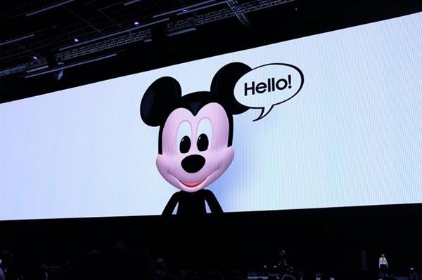 三星联合迪士尼推AR表情:对标iPhone X的Animoji