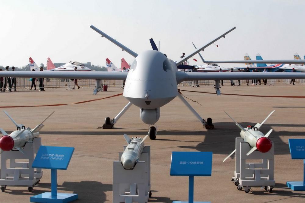 简氏:中国出口印尼4架翼龙1无人机交货