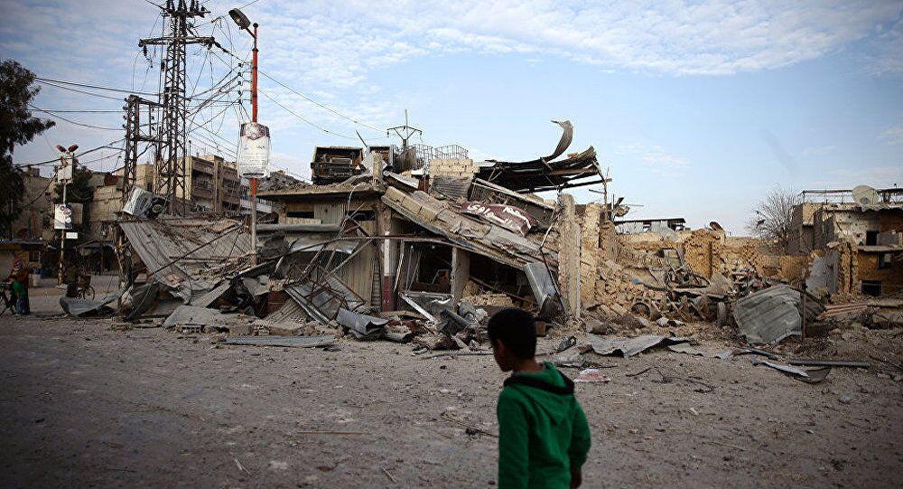 联大停火协议不起作用 叙利亚东古塔平民因武装分子炮击无法撤离