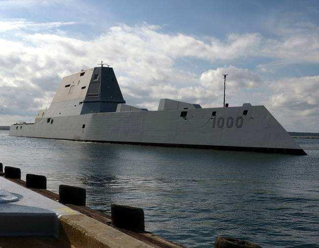 增强对中俄核威慑,美军科幻战舰或装备核巡航导弹