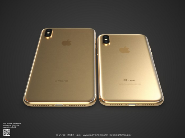 苹果金色iPhoneX概念图曝光:这个配色你还爱吗