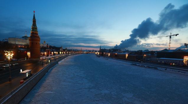 又冷又美的北方城市 冬日莫斯科风光