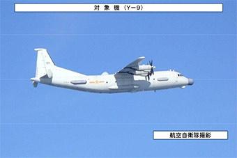 日公布靠近韩中国侦察机飞行路线 称非常罕见