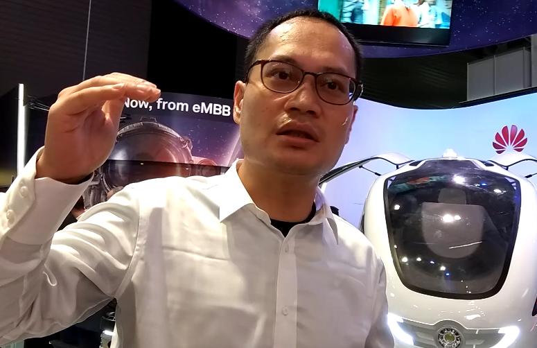 MWC 2018 华为王宇峰:空中更容易实现自动驾驶