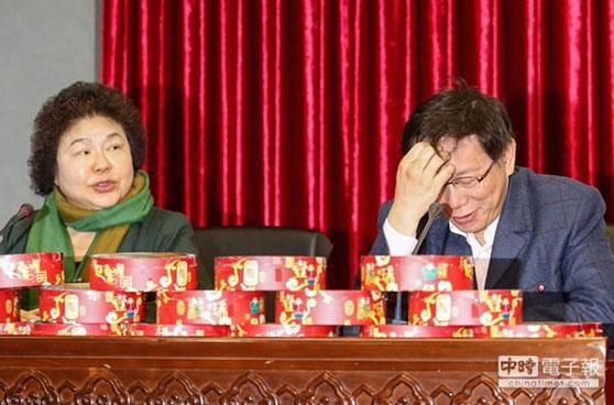 陈菊扬言投不信任票 柯文哲:台湾就是选举太多了