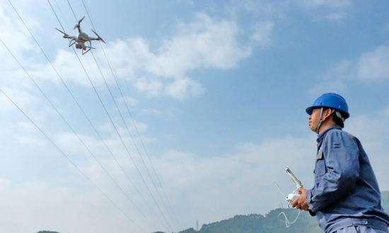 广西在全国首创无人机有毒有害气体监测系统