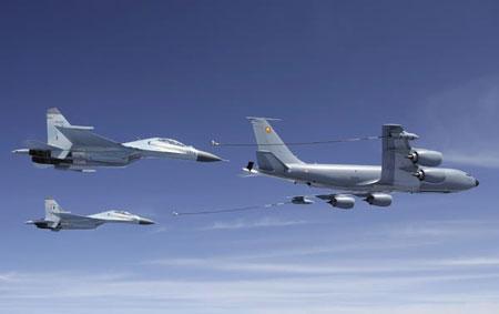 印媒:印度研制新一代飞机既能加油还能预警