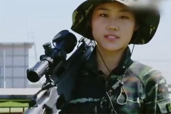 不输红海行动:实拍武警特战女狙击手神技