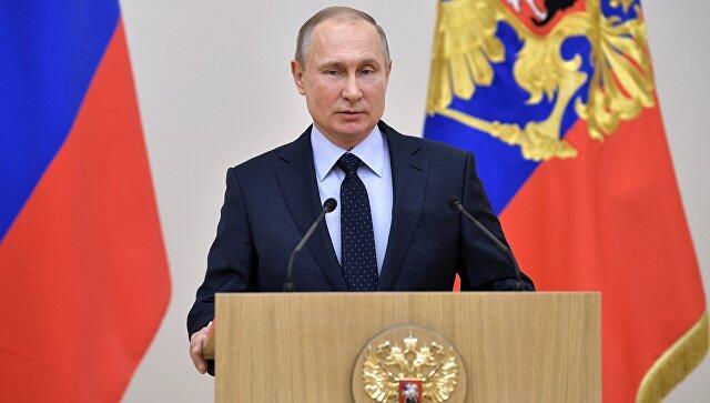 民调:2月底普京的选举支持率约为70%