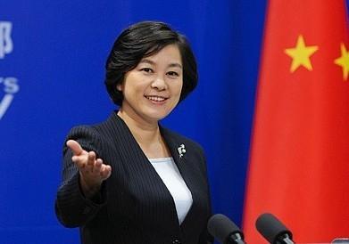 """华春莹:中方就美国通过""""与台湾交往法案""""提严正交涉"""