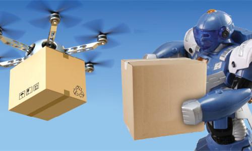 无人机和机器人_500