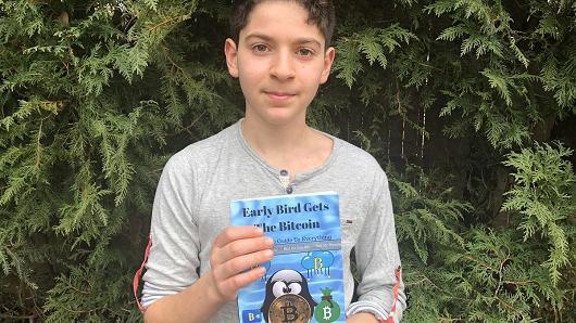 11岁美国中学生出版比特币指南 目标14岁赚2000万