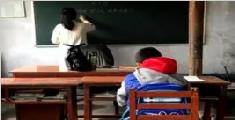 中国最孤独小学只有1个学生 老师却设了14个闹铃