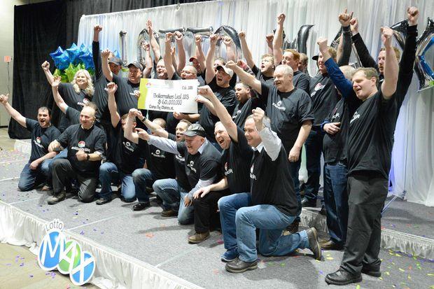 31名加拿大工人每人花24元抽奖,结果全全全成千万富翁!
