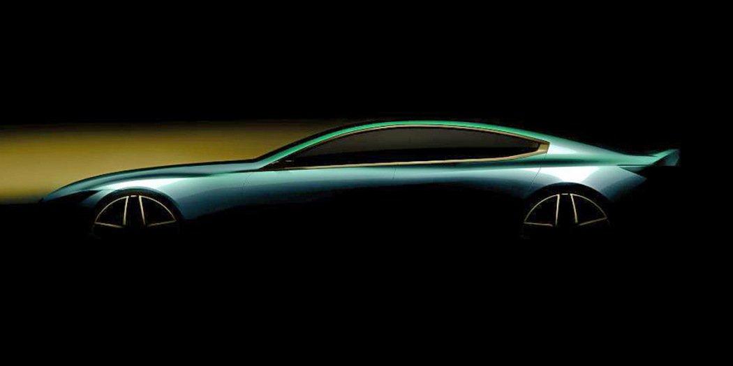 M8 Gran Coupe官图发布 将于日内瓦车展首发亮相
