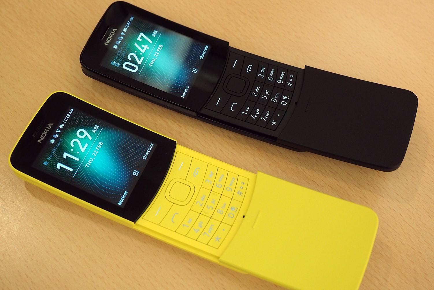 诺基亚手机的古往今来:砖头、香蕉和复古