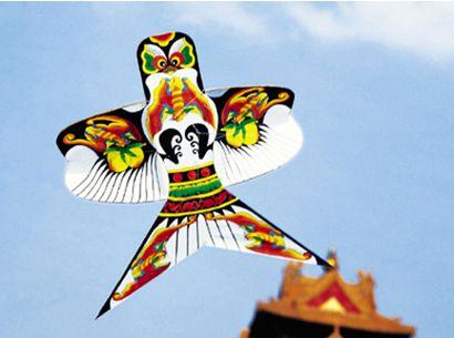 中国古代风筝用处多 战场上堪比现代无人机