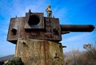 放弃军事碉堡名贵照片