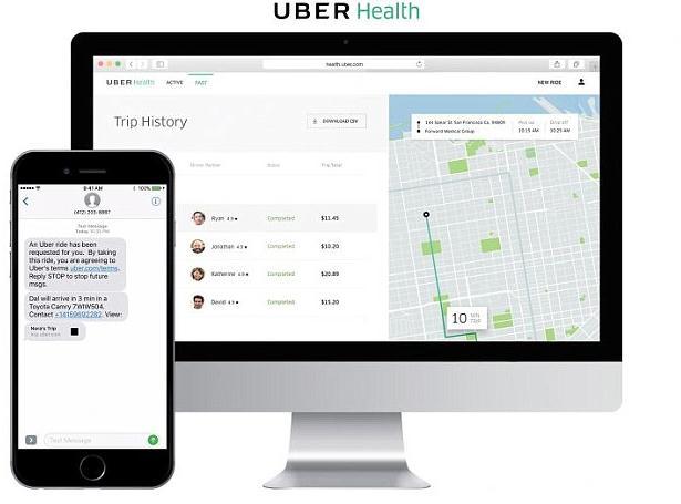 可充当救护车 优步Uber Health服务在美上线