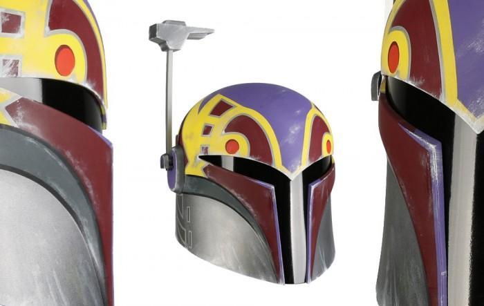 《星球大战》人气角色真实复刻头盔开始发售