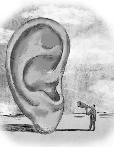 别因不服老拒绝助听器