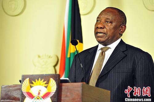 南非总统称不必为无偿征地议案感到恐慌