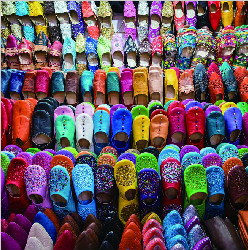 """摩洛哥拖鞋 """"不经意""""的时尚"""