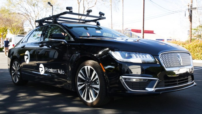 加州初创企业Phantom Auto开创一项遥控驾驶技术