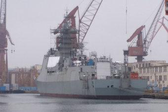 大批新舰!055大驱与052D扎堆舾装