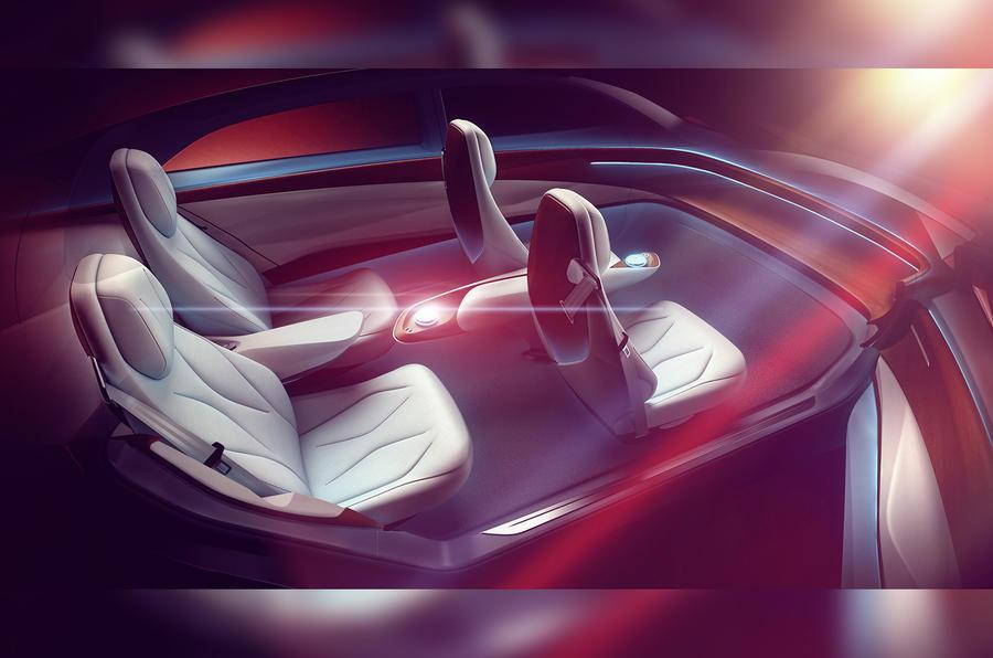 大众首款完全无人驾驶汽车ID Vizzion设计图发布