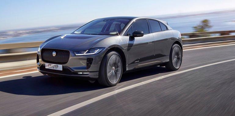捷豹SUV I-Pace官图发布 将亮相日内瓦车展