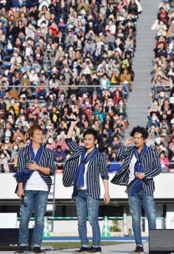 日本解散组合SMAP前成员发布新歌 支援残疾人运动会