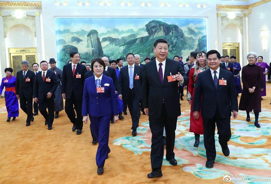 习近平在参加内蒙古代表团审议时强调 扎实推动经济高质量发展 扎实推进脱贫攻坚