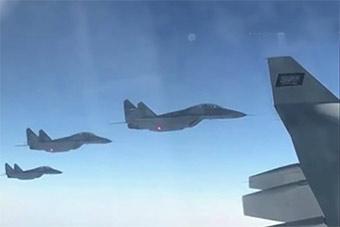 埃及米格29M战机首露面:为沙特王储专机护航