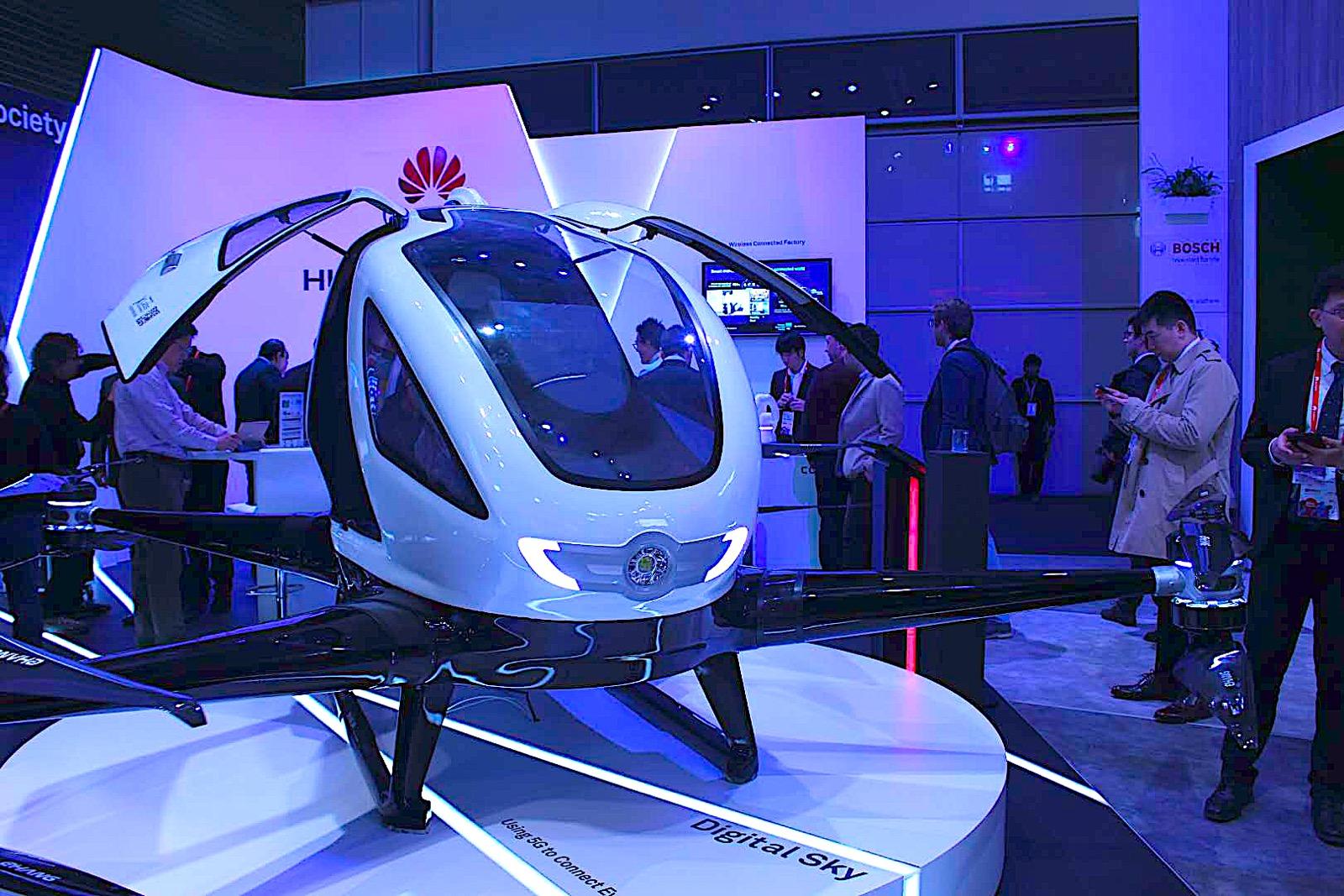 MWC展出天空商机与太空VR:华为5G布局赢在哪?