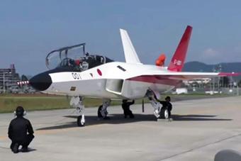 """日本放弃自研下一代战机 公开""""心神""""试飞画面"""