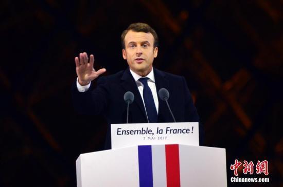 马克龙为讲英语辩护:捍卫法语并不排斥外语