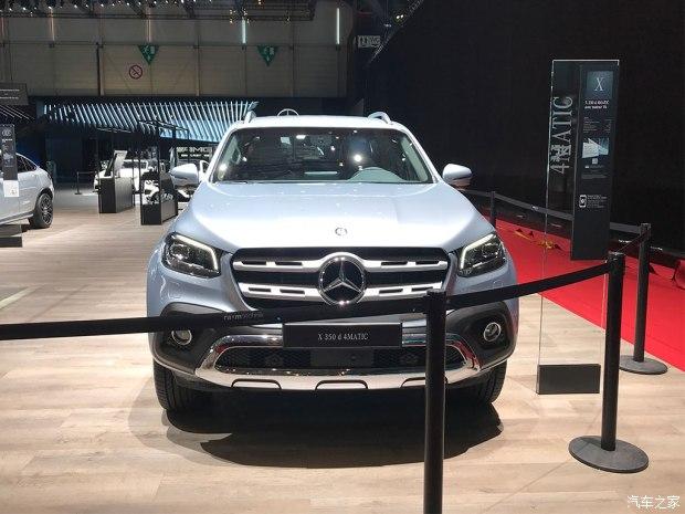 2018日内瓦车展探馆:奔驰X 350d 4MATIC