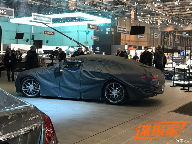 2018日内瓦车展探馆:AMG GT四门版实车