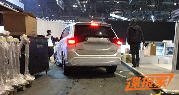 2018日内瓦车展探馆:新款三菱欧蓝德PHEV
