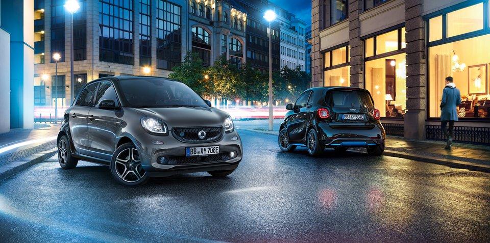Smart EQ电动版发布 巩固电动汽车品牌定位